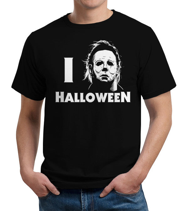 I Love Halloween T-Shirt - FiveFingerTees