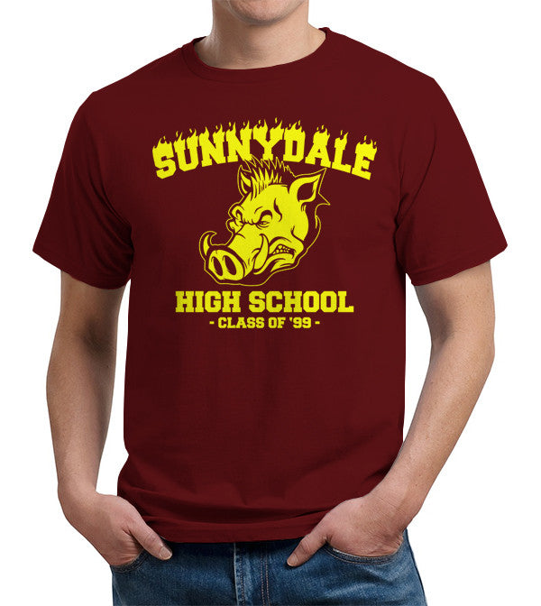 Sunnydale High School T-Shirt - FiveFingerTees