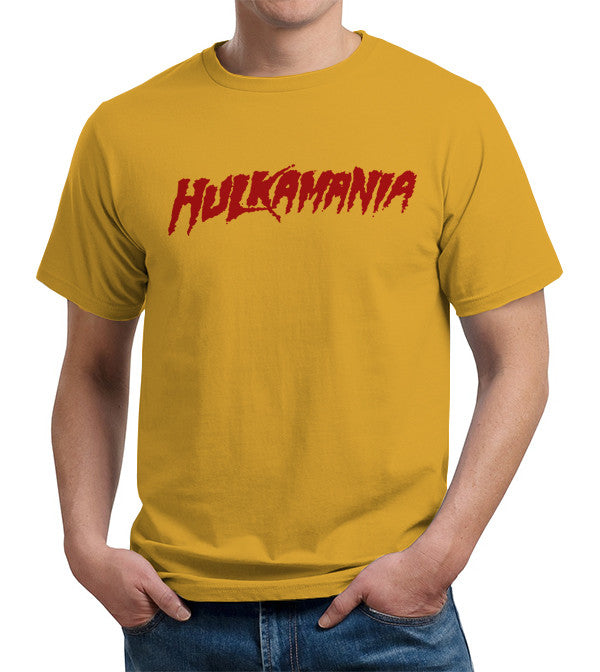 Hulkamania T-Shirt - FiveFingerTees