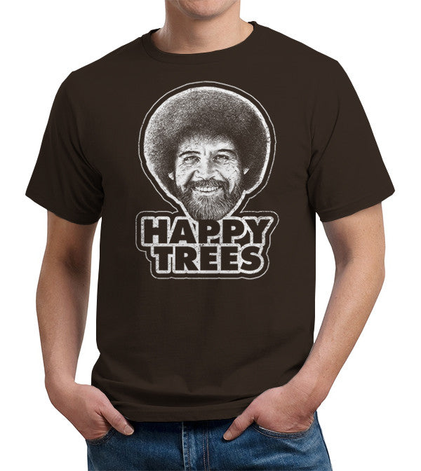 Happy Trees T-Shirt - FiveFingerTees