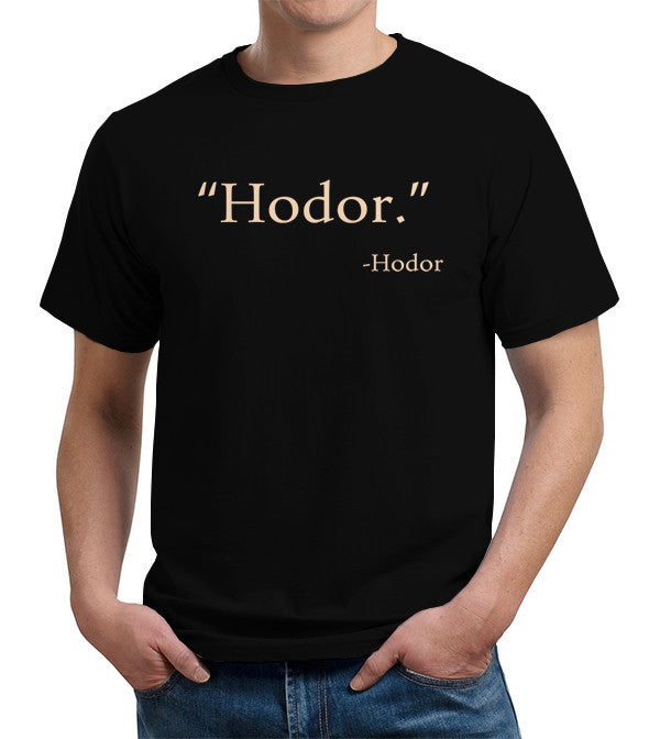 Hodor T-Shirt - FiveFingerTees