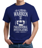Ed & Lorraine Warren Paranormal Investigators T-Shirt - FiveFingerTees