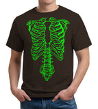 Spinal Tap Green Skeleton T-Shirt - FiveFingerTees