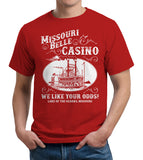 Missouri Belle Casino T-Shirt - FiveFingerTees