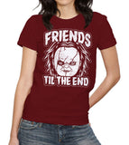 Friends Til The End Chucky T-Shirt - FiveFingerTees.com