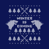 Winter Is Coming Ugly Christmas Sweater T-Shirt - FiveFingerTees
