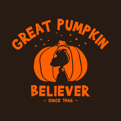 Great Pumpkin Believer T-Shirt - FiveFingerTees