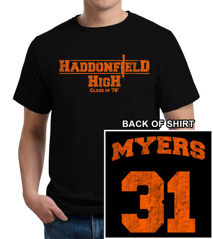 Haddonfield High School T-Shirt - FiveFingerTees