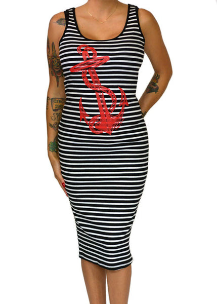 Anchor Tank Dress