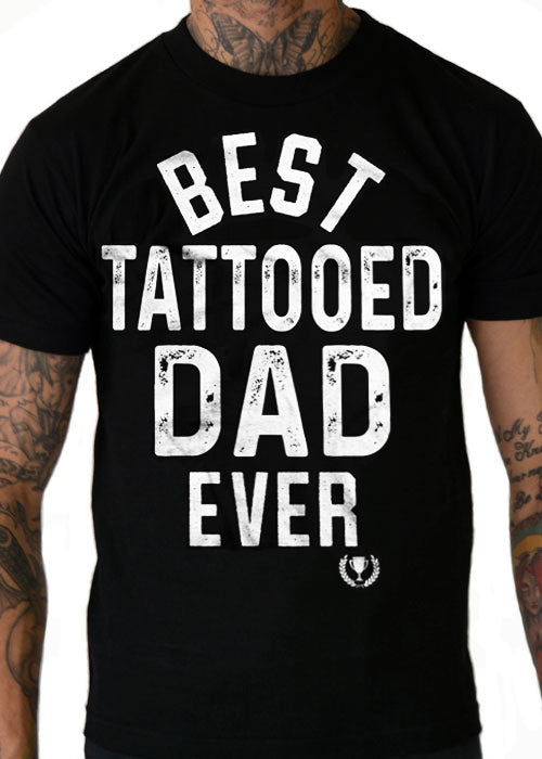 best tattooed dad ever - cartel ink - pinky star