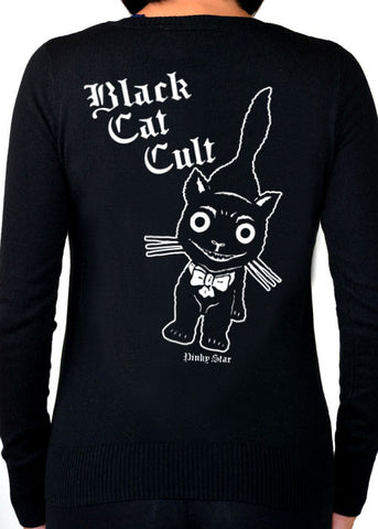 Black Cat Cult Cardigan