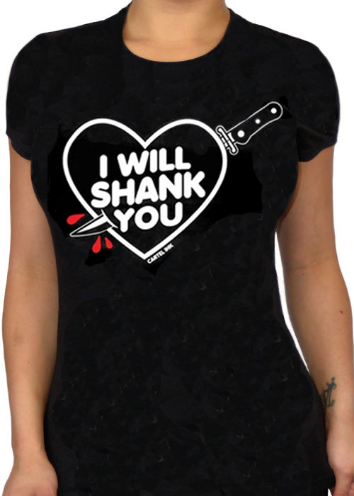 I will shank you - cartel ink - pinky star