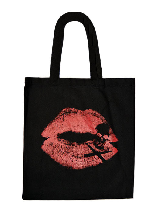Kiss Of Death Tote Bag