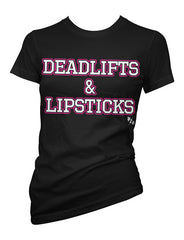 deadlifts and lipsticks - pinky star