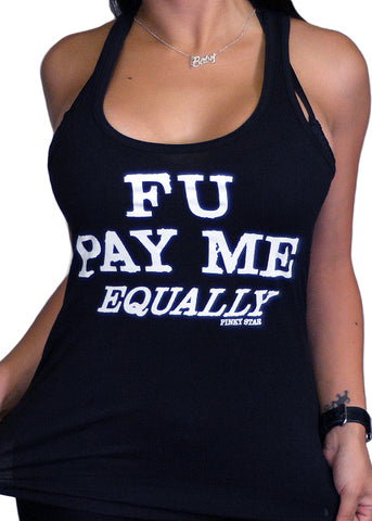 FU Pay Me Equally Tank