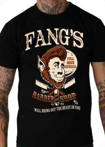 Fang's Barbershop Men's Tee