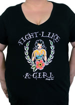 Fight Like A Girl Plus Size