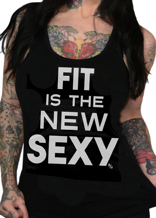 fit is the new sexy - pinky star