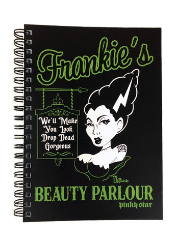 Frankie's Beauty Parlour Notebook