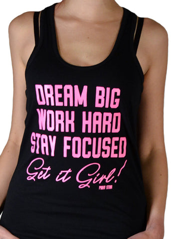 Get It Girl Racerback Tank Top