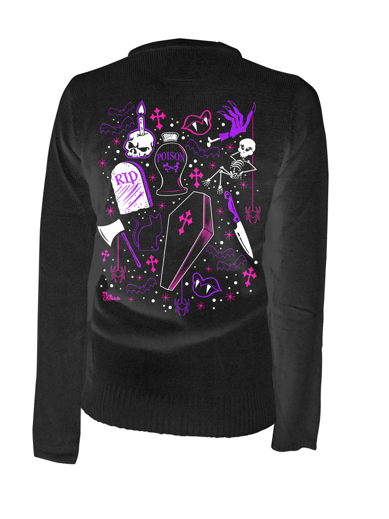 Ghoulie Girl Flash Cardigan