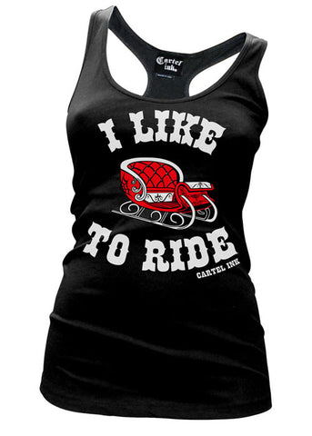 I Like To Ride Tank Top