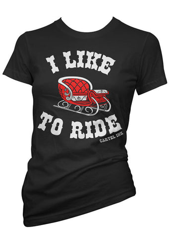I Like To Ride Tee