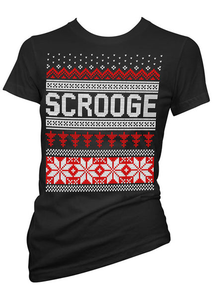 Scrooge Ugly Christmas Sweater Tee
