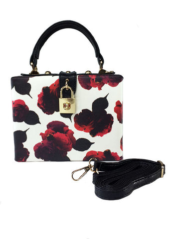 Rosebud Box Purse