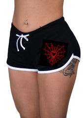 Heart Web Shorts