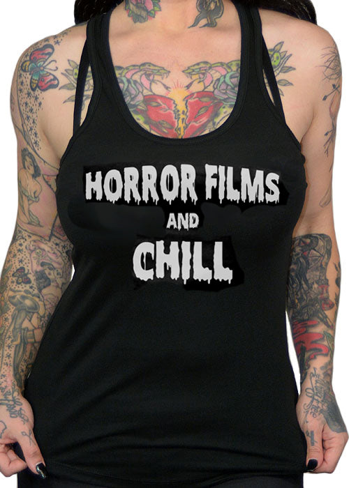 horror films and chill - pinky star
