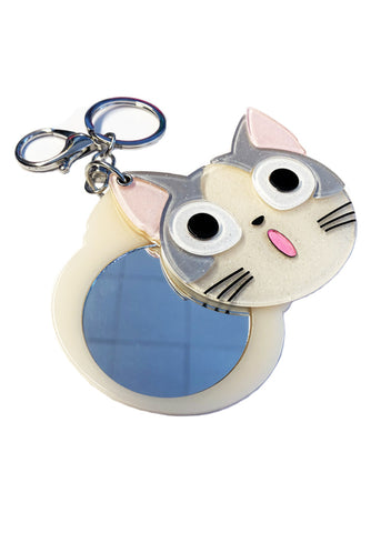 Kitty Purse and Key Pendant