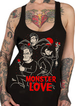 monster love tank - pinky star