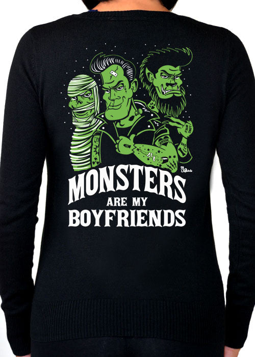 Monsters Are My Boyfriend Cardigan
