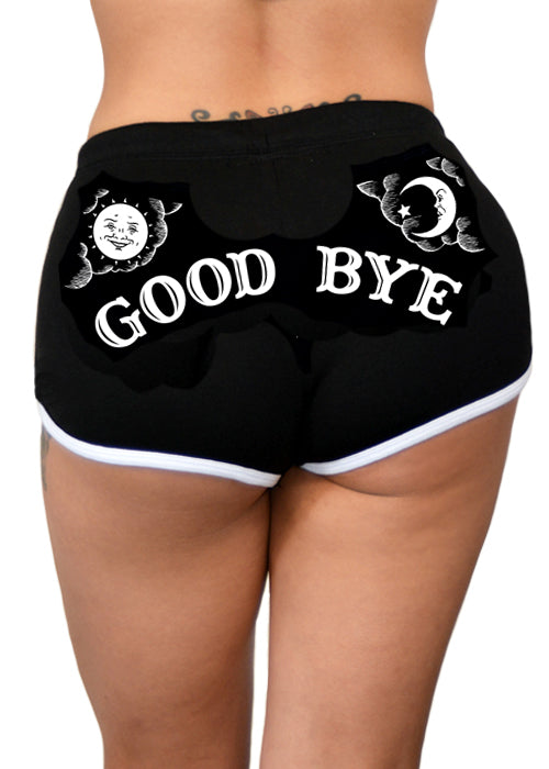 mystic goody bye shorts - pinky star