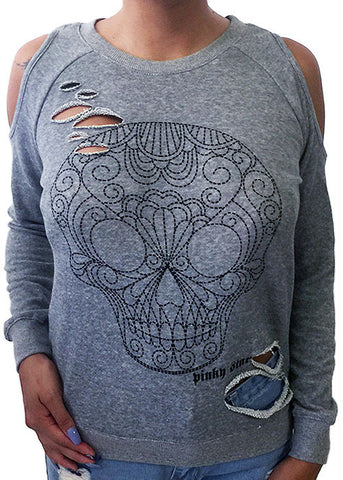 Sugar Skull Slasher Sweatshirt