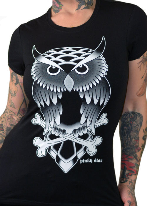 Tattoo Owl Tee