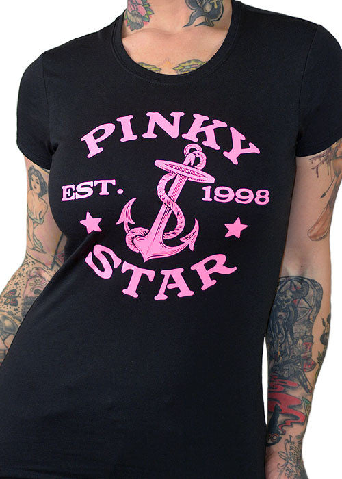 Pinky Star Established Tee