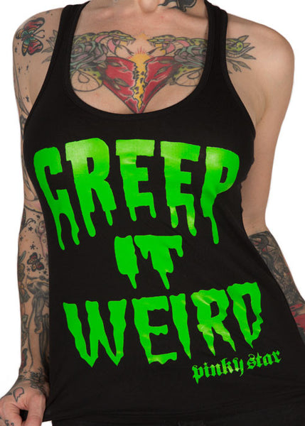 Creep It Weird Tank Top