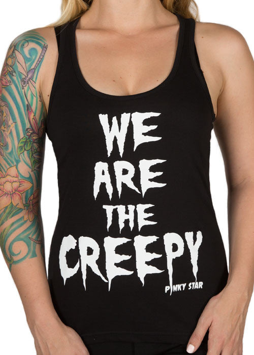 We Are The Creepy Racerback Tank Top