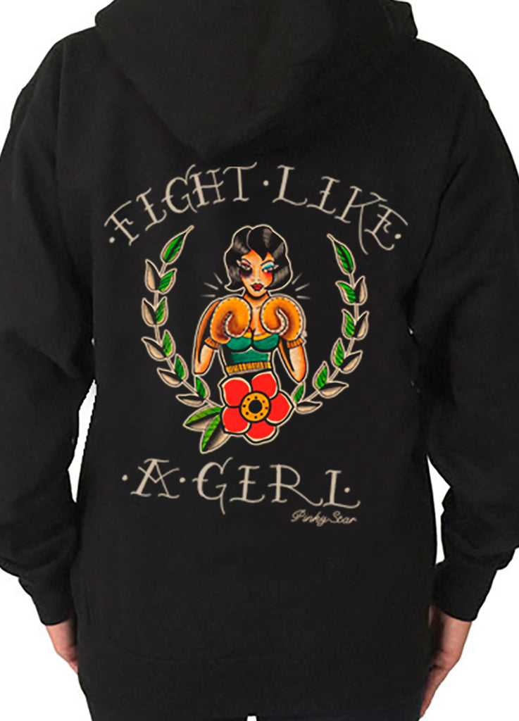 Fight Like A Girl Hoodie