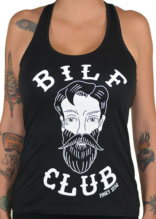 Bilf Club Racerback Tank Top
