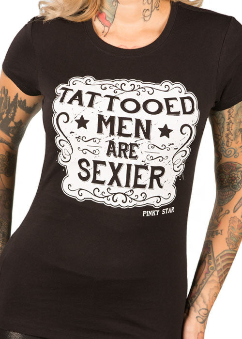 Tattooed Men Are Sexier Tee