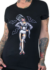 The Bride Pinup Tee