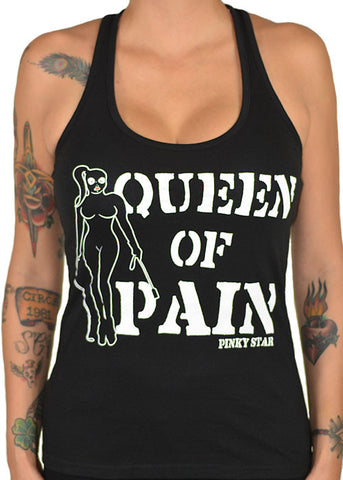 Queen of Pain Racerback Tank Top