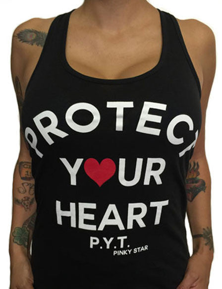 Protect Your Heart Racerback Tank Top