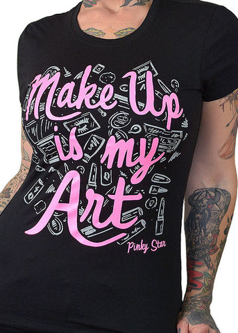 MakeUp is My Art Tee