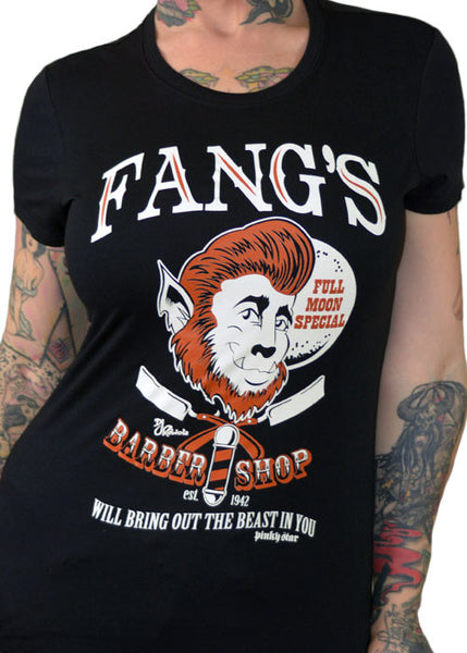 Fang's Barber Shop Tee