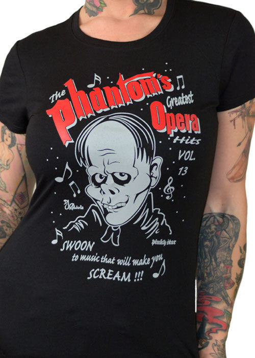 The Phantom's Greatest Opera Hits Tee