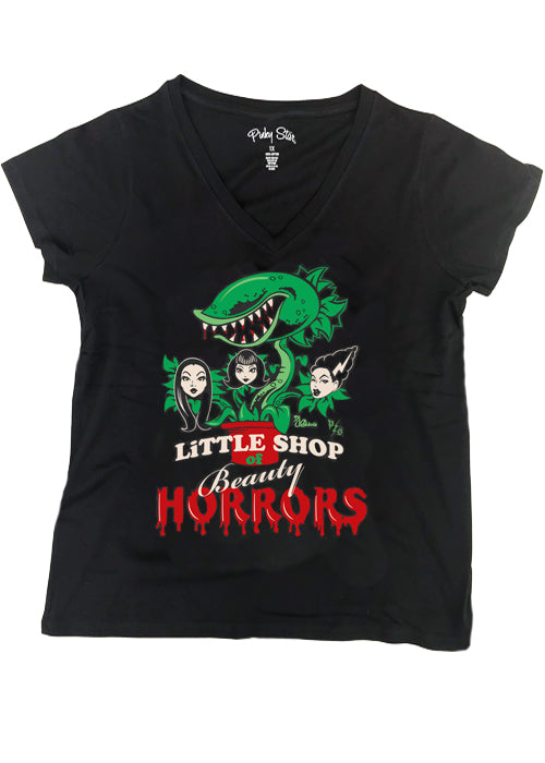 little shop of beauty horrors - pinky star - plus size